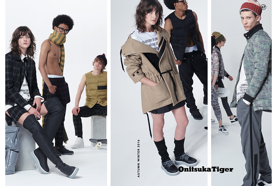 Onitsuka Tiger 2016 Autumn Winter LOOKBOOK