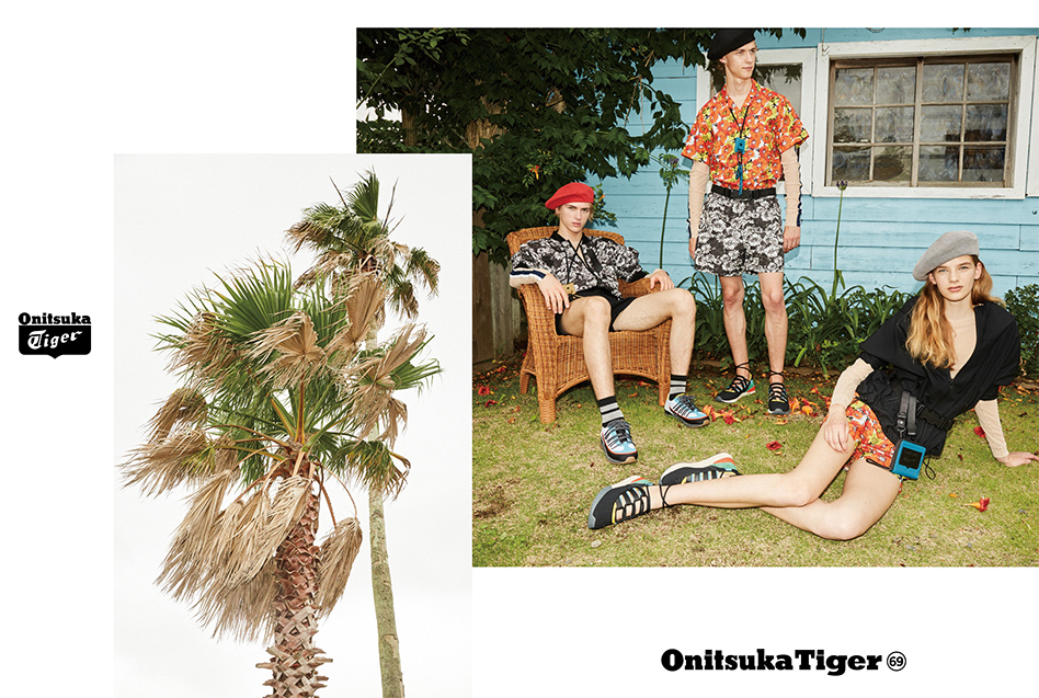 Onitsuka Tiger 2018 Spring Summer LOOKBOOK