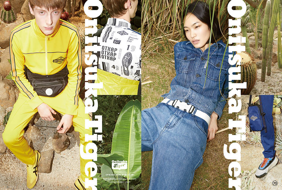 Onitsuka Tiger 2019 Spring Summer LOOKBOOK