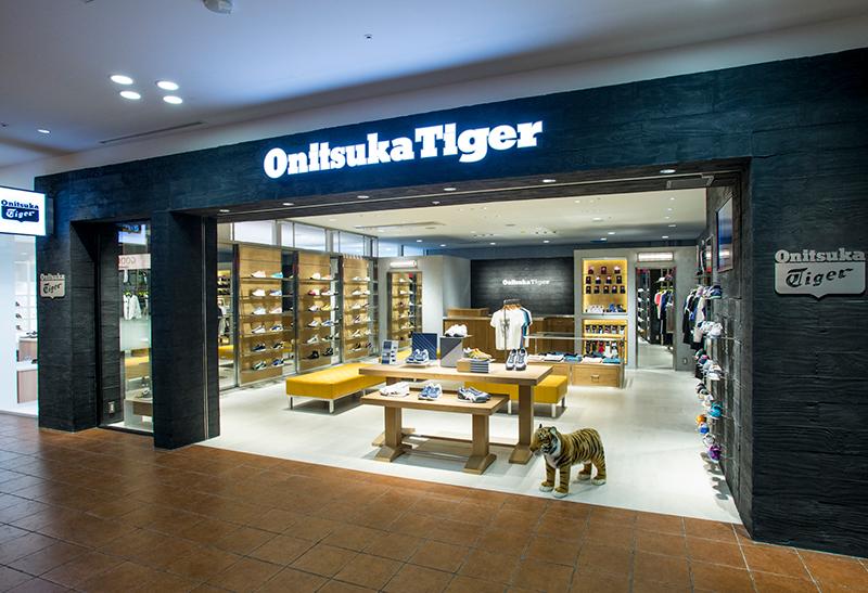 タイガー 店舗 オニツカ