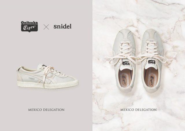 「snidel(スナイデル)」コラボ,オニツカタイガー,Mexico Delegation
