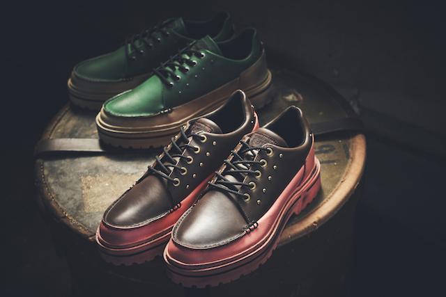 MNR MOCCASIN AP】A unique shoe with a